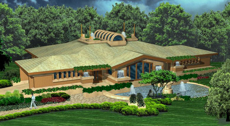 Lantern House- click here to see house plan