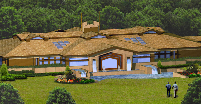 Pool House- click here to see house plan